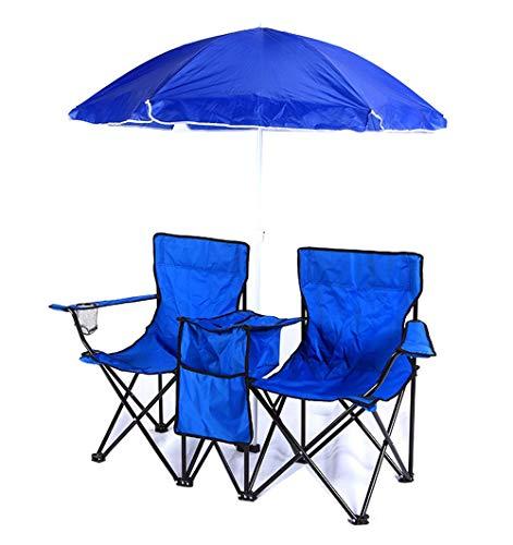 ZOUJUN Tables de Plage et chaises, légère Pliante Table carrée Roll Up Top 2 Personnes Table Compact avec Sac de Transport for Le Camping, Pique-Nique, Backyards, Barbecue