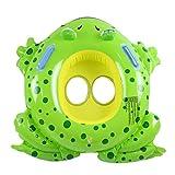 Kind Cartoon Frosch Schwimmen Ringe PVC verdicken Strand Schwimmbad aufblasbare Spielzeuge Wddwarmhome