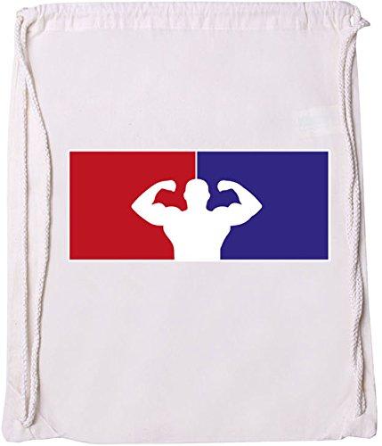 EZYshirt® Fitness Baumwoll Stoffbeutel