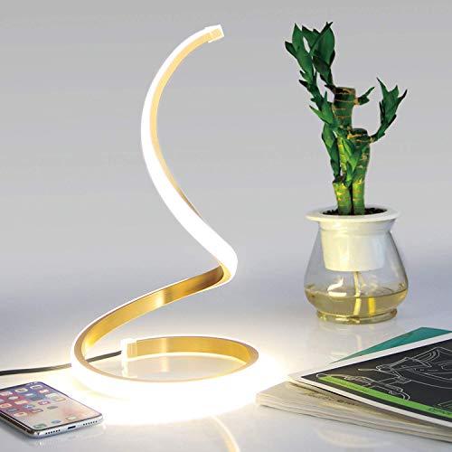 NUÜR Table Lamp, Aluminium, 12 W, Gold