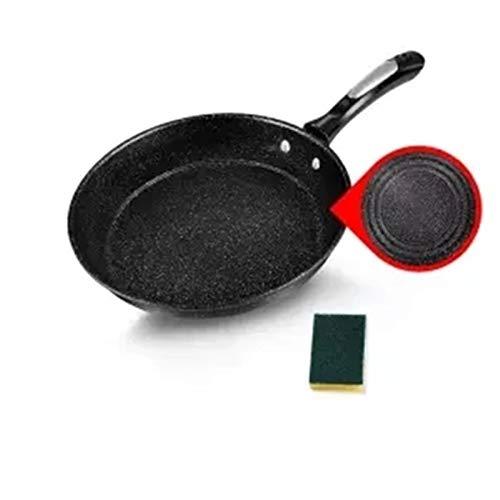 Wok woks sarten PAN PANNA DE FRITANDO PAN PAN PAN PAN DE ADA ADA ASAP WAJAN KECIL WOK Induksi Cocina Universal Dapur Pot Non Stick Pan Dapur Pot Peralatan Masak Panci (Warna : 24 cm without cover)