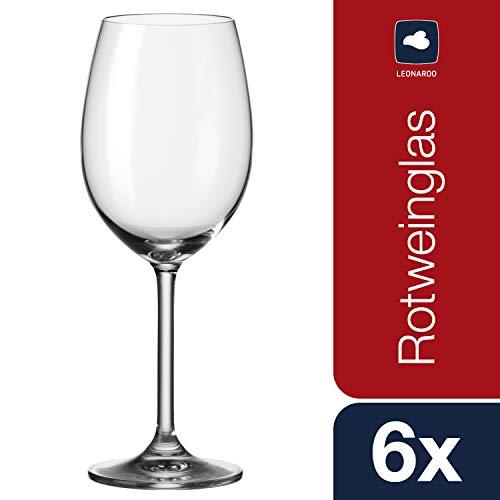 Leonardo 35241 Daily - Copas de Vino Tinto (6 Unidades