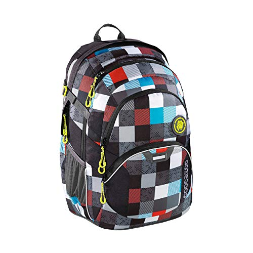 Coocazoo Coocazoo JobJobber 2 Schulrucksack Checkmate Blue red