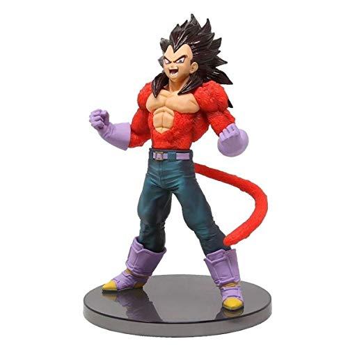Figure, Bandai Banpresto, Dragon Ball Gt Blood of Saiyans Special Iv Super Saiyan 4 Son Goku R29390/29391, Multicor