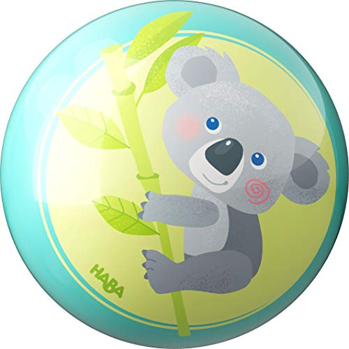 HABA 306000 Ball Koala 15 cm PVC Spielball Blau Grün Indoor/Outdoor