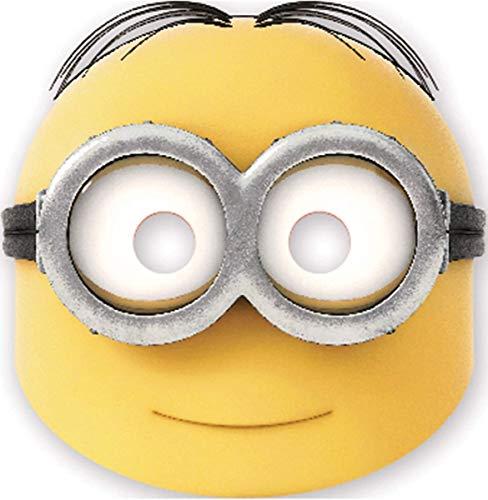 Procos - Pappmasken Lovely Minions, mehrfarbig, 5PR87187