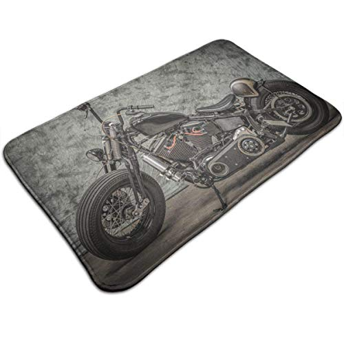 Beck Roy har-Ley Davidson Motocicleta Felpudo de Interior al Aire Libre Bienvenido Felpudo Alfombrillas de baño