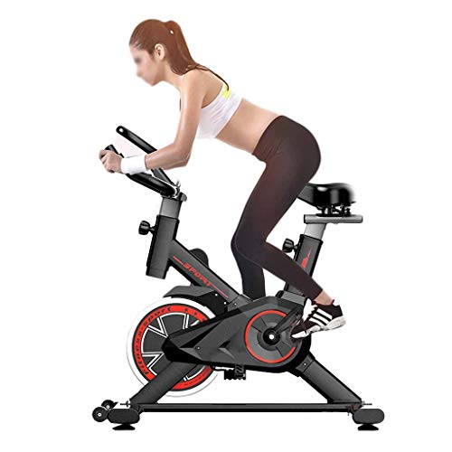 MUJING Stationary Bike, Spin Exercise Bikes Stationary, Indoor Fitness Cycling Bike 300 Lb Capacity,Adjustable Seat and Handlebars,Arm Workout Full Body Gym Heavy Duty Commercial Bike for Home Cardio