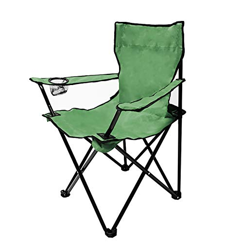 DIMAR GAEDEN Camping Folding Chair with Arm Rest Cup Holder, Outdoor Sports, Picnic, Hiking and...