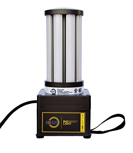 In360Light LED Shop Light Portable Work Outdoor Indoor 360 Degrees, Handheld Compact with Strap, 6,000 Lumens 54 Watts