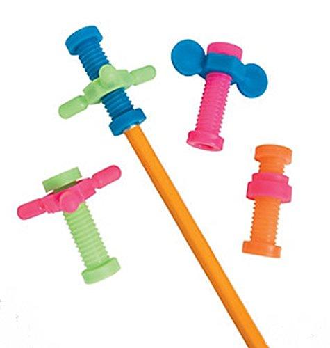 Fidget Pencil Toppers (4 Dozen)