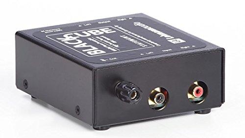 Lehmann Audio Black Cube Statement Phonovorverstärker (MM/MC, 103x108x45mm), Schwarz