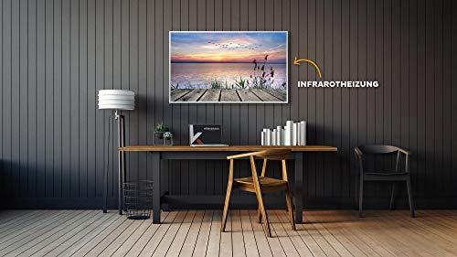 Könighaus Fern Infrarotheizung - Bildheizung in HD Qualität mit TÜV/GS - 200 Bilder - mit Thermostat 7 Tage Programm - 1000 Watt (42. Steg)