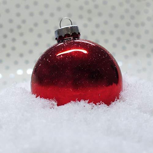new home Kunstschnee 65g Dekoschnee Weihnachtsdeko Schnee Dekomaterial Basteln Modellbau
