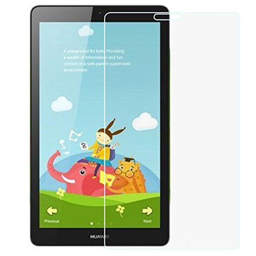 MediaPad T3 8.0 inch Tempered Glass - Full Coverage 9H Hardness Tempered Glass Screen Protector Huawei MediaPad T3 8.0 with Anti-fingerprint Bubble-Free Crystal Clear