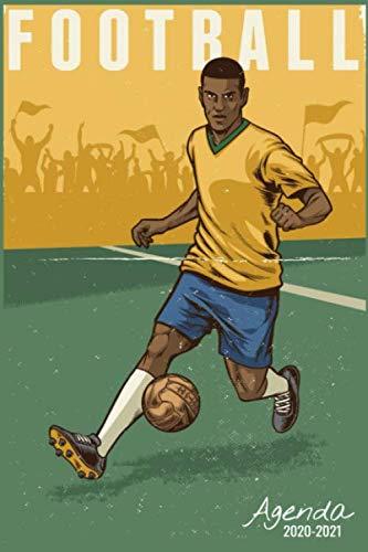 Agenda Scolaire 2020 2021: Football | Agenda semainier, Format A5 | Pour les étudiants, professionnels et particuliers  | Calendrier, liste de ... pages |  Septembre 2020 à Septembre 2021 |
