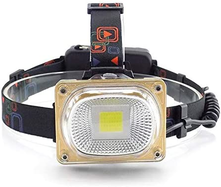 lliang Spring new work Head Flashlight High Fashionable Power LED Headlamps Recharge USB COB