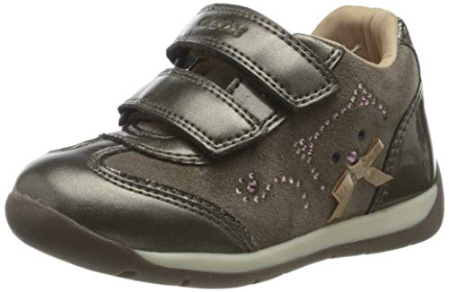 Geox B Each Girl A, First Walker Shoe Niñas, (Smoke Grey), 26 EU