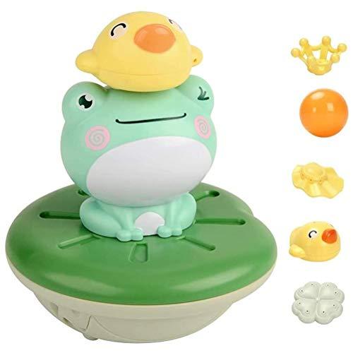 Baby Badespielzeug Badewannen Spielzeug Kugelfisch/Wal/Frosch Wasserspray Spielzeug Schwimmende Elektrische Spielzeug Wasserspielzeug für Kinder