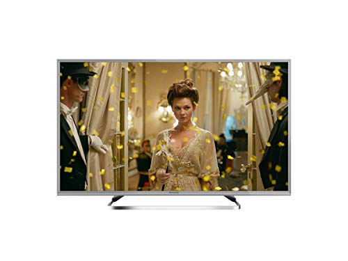 Panasonic TX-43FSW504S 43 Zoll/108 cm Smart TV (TV LED Backlight, Full HD, Quattro Tuner, HDR, silber)