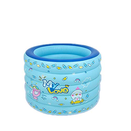Piscina Inflable Infantil. Piscina De Agua para Niños, Material Plástico Ideal para Bebés Y Niños Y Niñas Pequeños. Tamaño(96x96x73CM)