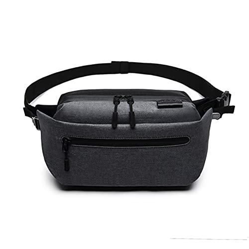 A-myt multifuncional Bolsa de cintura deportiva para hombres, bolsa de cinturón para hombres, bolsa de cintura diaria, bolsa de teléfono móvil, bolsa de mensajero de hombros, bolsa de pecho Práctico y