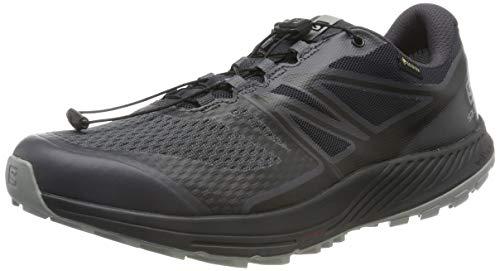 Salomon Herren Trailrunning-Schuhe, SENSE ESCAPE 2 GTX, Farbe: schwarz (Ebony/Black/Monument), Größe: 42