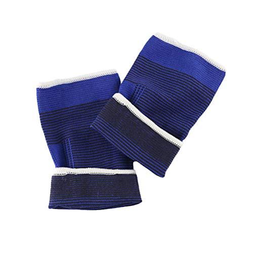 Healifty 1 Paar elastische Ellenbogenbandage Sport Arm Brace Sleeve Pad für Basketball Badminton