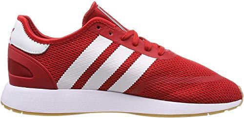 adidas N-5923 Zapatillas de Gimnasia Hombre, Rojo (Scarlet/Ftwr White/Gum4 Scarlet/Ftwr White/Gum4), 43 1/3 EU (9 UK)