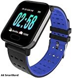 MAKECELL A6 Smart Band for Health and Fitness for Heart Rate Blood Pressure