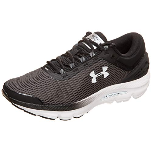 Under Armour UA Charged Intake 3, Zapatillas de Entrenamiento Hombre, Negro (Black/White (004), 40 EU