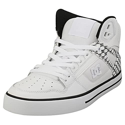 DC Shoes Pure SE - Chaussures Montantes - Homme - EU 42 - Blanc