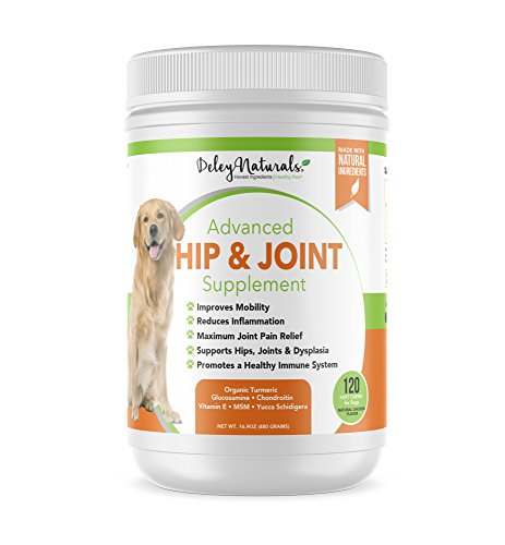 Top 10 best selling list for hip and joint supplement with pain killer for dogs