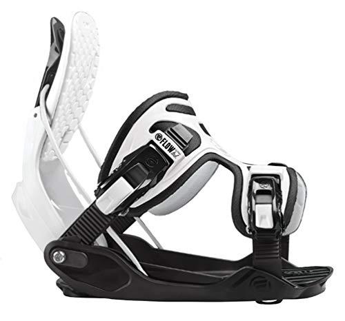 Flow 2020 Alpha White Stormtrooper Snowboard Bindings
