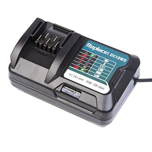DC10WD BL1015 Battery Charger Replace for MAKITA 10.8V 12V BL1016 BL1021B BL1041B FD05 DT03 RJ03Z SH02Z PH04Z DC10SB Charger