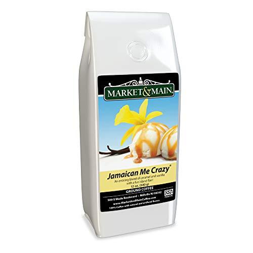 Market & Main Jamaican Me Crazy Flavored Coffee, Single Bag, 12 Ounces