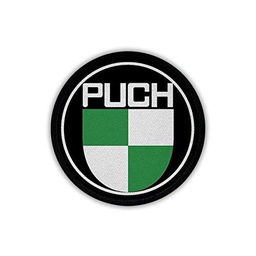Copytec Patch Aufnäher Puch Werke Motorsport Motorrad Mofa Österreich Oldtimer Kult Fan Abzeichen Emblem #20025