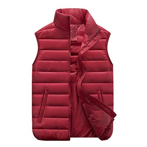 Otoño e invierno engrosado abajo chaleco de algodón para hombres jóvenes abrigo de hombro hombres grandes