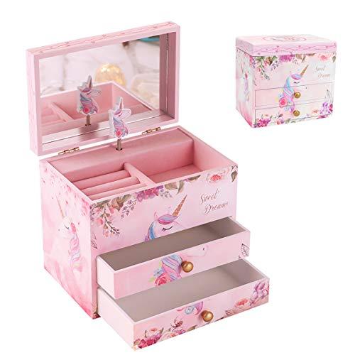 4. Kaimel Unicorn Musical Jewelry Box