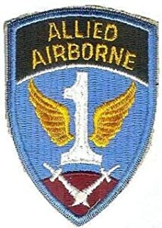 US Army WWII 1ST Allied Airborne Command Patch (Reproduction) by HighQ Store