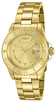Invicta Men s Pro Diver 40mm Gold Tone Stainless Steel Quartz Watch Gold  Model  12820