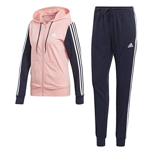 adidas Womens W Ts Co Energiz Tracksuit, Glory Pink/Legend Ink, L