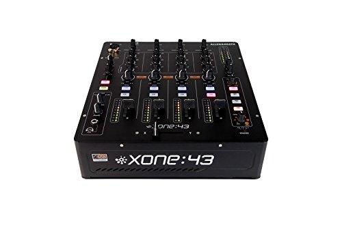 """Allen & Heath """"Xone:43"""" 4-Kanal-Audiomischpult, (24Bit, 20 bis 20.000Hz, 20dB, 0,05%, 3,5mm), Schwarz"""