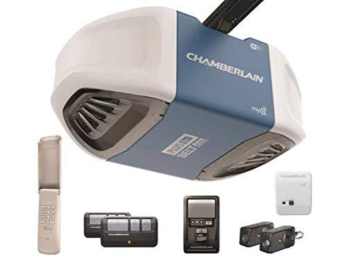 Chamberlain 3/4 HP Equivalent Ultra-Quiet Belt Drive Smart Garage Door Opener -  ChamberlainGarage