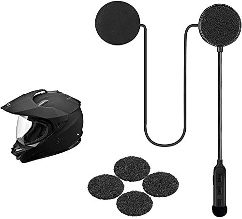 Motorcycle Helmet Bluetooth Headset,Bluetooth 5.0,Waterproof Motorcycle Headset,Hands Free,Sports...