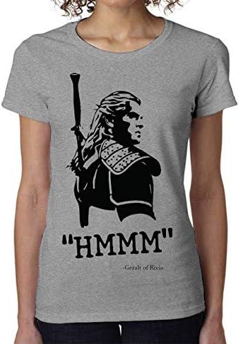 The Witcher Hmm Geralt Women's T-Shirt Camiseta Mujer Tshirt