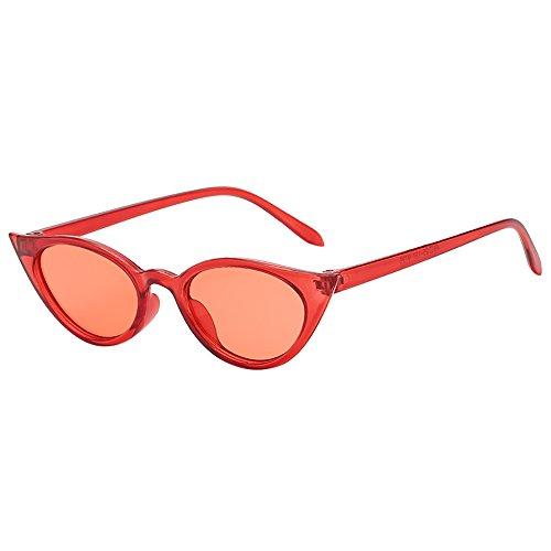 ODJOY-FAN occhiali da sole in antico Occhiali Sole Uomo e Donna Polarizzati Rotondi Vintage Retro Specchiati Protezione Da Cat Eye Stile Moda Retrò Per Divertimento