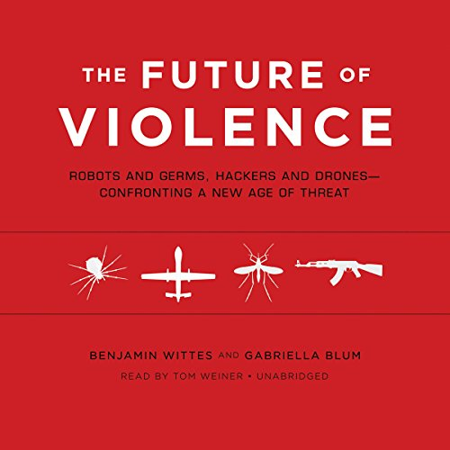 The Future of Violence audiobook cover art