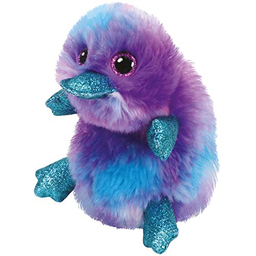 TY 36445 Beanie Boos 24 cm Plüschtier, Lila,blau,türkis