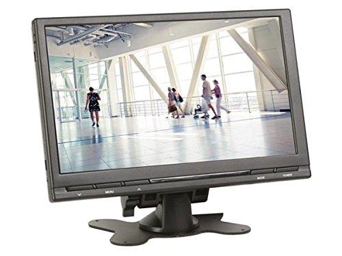 VELLEMAN 162967 MON9T1 - Monitor Digital TFT-LCD (9 Pulgadas, 16:9/4:3, con Mando a Distancia), Color Negro